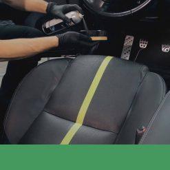Làm sạch bảo dưỡng da ô tô Sonax Leather Care Foam 289300 400ml