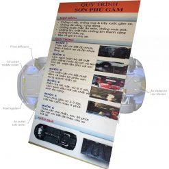 Sơn phủ gầm ô tô 3M Underseal 1L (màu đen)