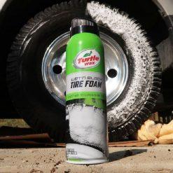 Bảo dưỡng lốp ô tô Turtle Wax Tire Foam & Shine 510g
