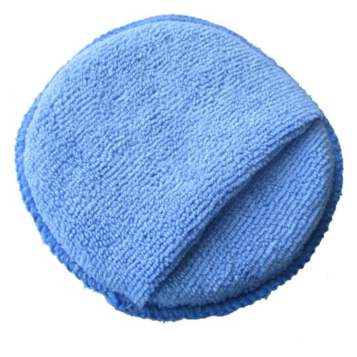 Bọt biển bọc vải chăm sóc xe ô tô có quai đeo 12.5cm