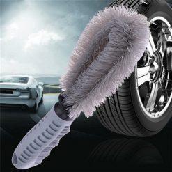 Cây cọ rửa vành mâm xe ô tô chuyên dụng 25x13x7cm