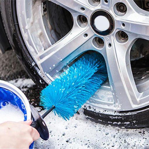 Cọ vệ sinh vành bánh xe ô tô P079 47cm