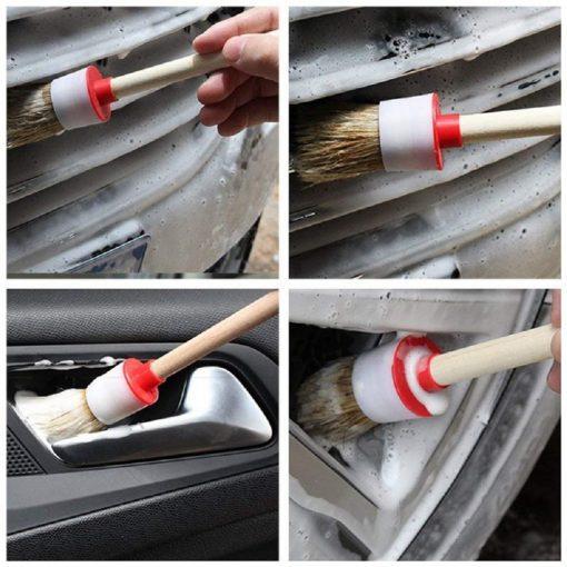 Chổi cọ vệ sinh xe ô tô đa năng (5 chiếc)