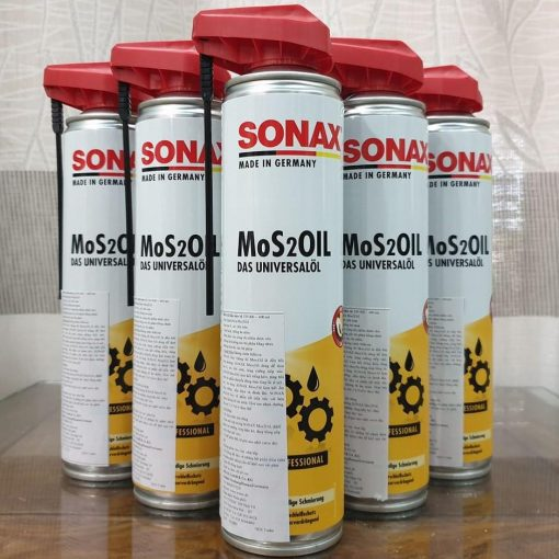 Dau Boi Tron Chong Ri Bao Ve Khoang May Sonax Mos2oil 400ml