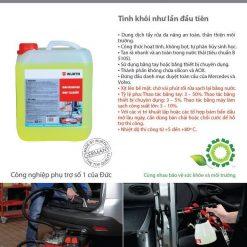 Dung dịch rửa xe đa năng Wurth BMF Workshop Cleaner 5L