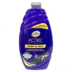 Dung dịch rửa xe bóng sơn Turtle Wax Ice Wash & Wax 1.42L