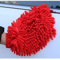 Găng tay rửa xe ô tô hai mặt xúc tu 25cm x 17cm