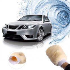 Găng tay rửa xe sợi lông cao chống trầy xước 24x16cm