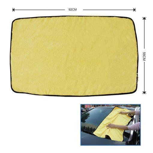 Khăn lau xe ô tô đa năng siêu sợi Microfiber 92x56cm