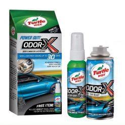 Khử mùi xe ô tô Turtle Wax loại bỏ bỏ mùi hôi trong dàn lạnh ô tô, hệ thống thông gió và toàn bộ nội thất của xe. An toàn để lại mùi thơm tươi mát dễ chịu.