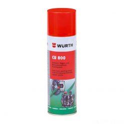 Mỡ bò đồng chịu nhiệt Wurth Copper spray CU 800 300ml