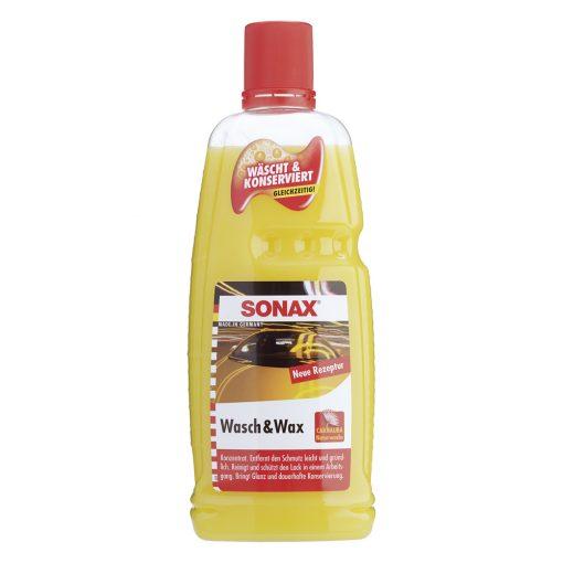 Nước Rửa Xe Bóng Sơn 2 Trong 1 Sonax Wash & Wax 1 Lít
