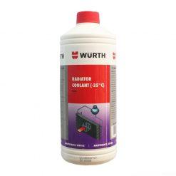 Nước làm mát động cơ Wurth Radiator Coolant 1L (đỏ)