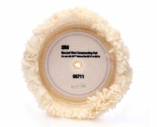 Pad lông cừu 3M 05711 đánh bóng sơn (9in 1 mặt)