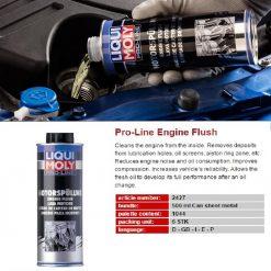 Súc rửa động cơ Liqui Moly 2427 Pro-Line Engine Flush 500ml