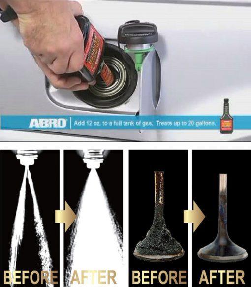 Vệ sinh kim phun xăng Abro Fuel Injector Cleaner 354ml