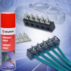Vệ sinh làm sạch mạch điện Wurth Contact Spray 300ml