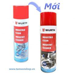 Chai xịt tẩy keo Wurth Industry Cleaner 500ml
