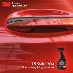 Dung dịch làm bóng sơn xe 3M 39034 Quick Wax 473ml