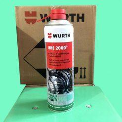 Chai xịt mỡ bò nước HHS 2000 Adhesive lubricant 500ml (Wurth 0893106)