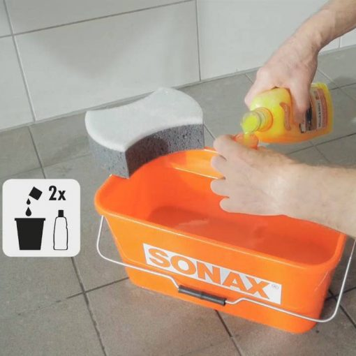 Nước rửa xe Sonax 313341 Wash & Wax 1 lít (bóng sơn)