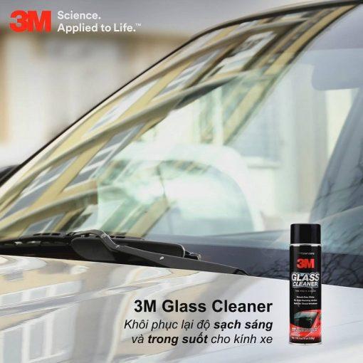 Nước lau kính ô tô 3M Glass Cleaner 08888 538g
