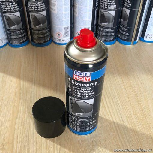 Silicon Bôi Trơn Cao Su Nhựa Kim Loại Liqui Moly Silicone Spray 3310 300ml
