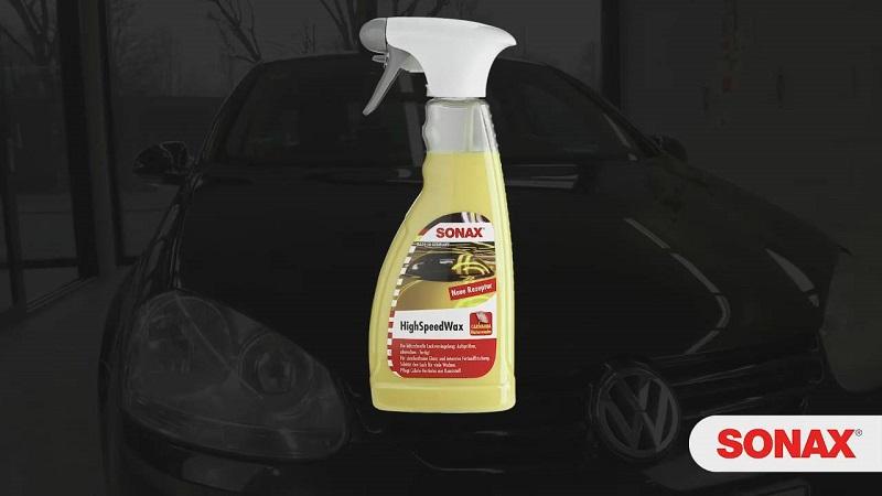 Dung dịch làm bóng sơn xe ô tô Sonax High speed wax 500ml (Mã QT: 288200)