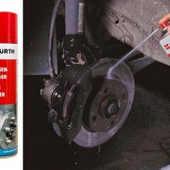 Chai xịt tẩy dầu mỡ vệ sinh thắng đĩa Wurth Brake Cleaner 500ml
