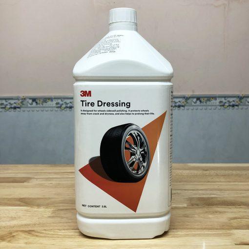 Dung dịch Bảo dưỡng khoang máy lốp xe ôtô 3M Tire Dressing 3.8 lít