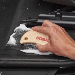 Ban chai ve sinh noi that Sonax Textile & Leather Brush