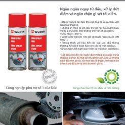 Chai Xit Son Ma Kem Chiu Nhiet Cao Wurth Zinc Spray 400ml
