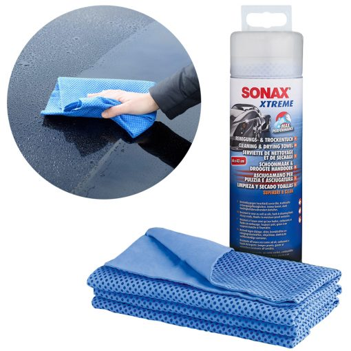 Khan Lau Xe Sieu Tham Hut Sonax Xtreme Cleaning & Dry Cloth
