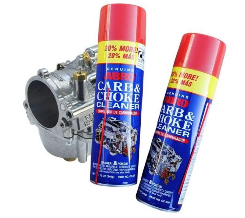 Ve Sinh Binh Xang Con Abro Carb & Choke Cleaner 340g