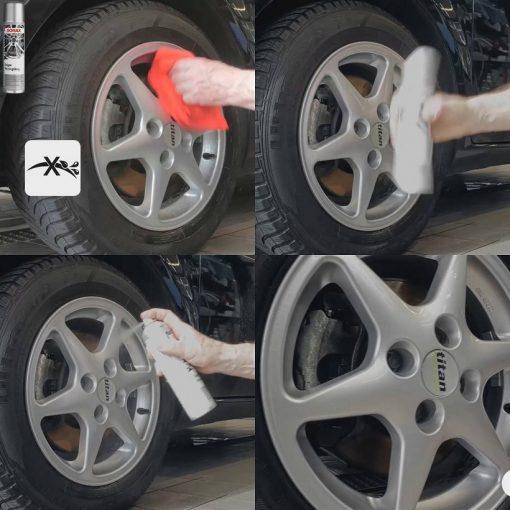 Chai xịt phủ bảo vệ mâm xe ô tô Sonax Wheel rim coating 400ml