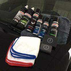 Khăn lau xe Sonax 450700 mềm mịn cao cấp dùng lau xe ô tô đa năng