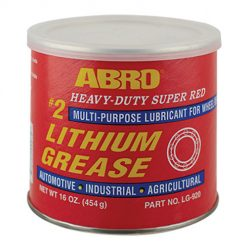 Mỡ bò bôi trơn Abro Super Red Lithium Grease 454g