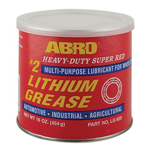 Mỡ bò bôi trơn Abro Super Red Lithium Grease 454g