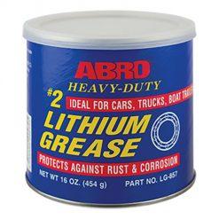 Mỡ bôi trơn công nghiệp Abro Heavy-Duty Lithium Grease 454g