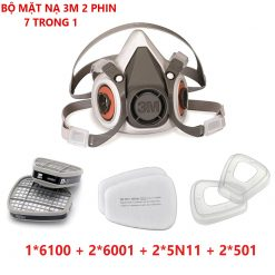 Bộ mặt nạ 3m 2 phin lọc P563