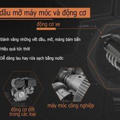 Vệ sinh dầu mỡ máy động cơ WD40 Machine & Engine Degreaser 450ml 35104