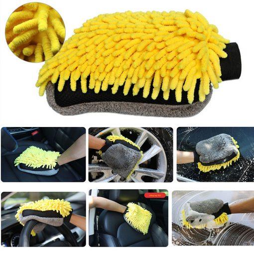 Bao tay rửa xe ô tô 4IO P056 4-In-1 Car Wash Mitt