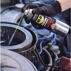 Chai xịt vệ sinh bộ chế hòa khí, cổ hút gió, họng ga WD-40 Throttle Body Carb & Choke Cleaner