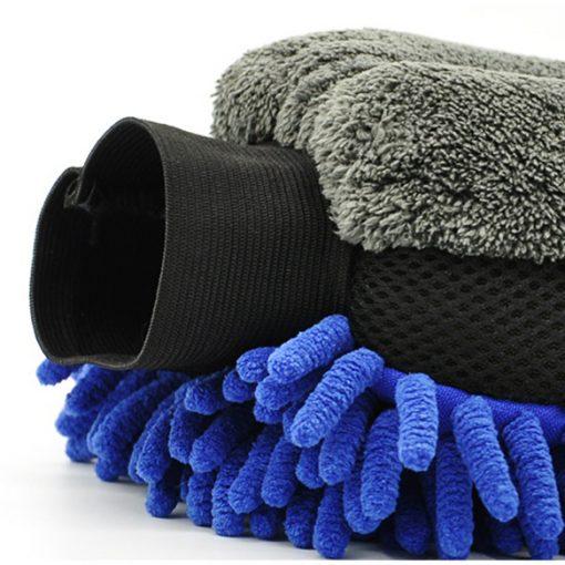 Găng tay rửa xe ô tô 4IO P057 4-In-1 Car Wash Mitt Microfiber