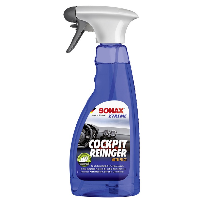 Làm sạch nhựa nội thất ô tô Sonax Xtreme Cockpit cleaner 500ml