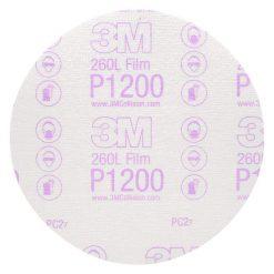 Giấy nhám 3M P1200 260L đĩa tròn 6 in 00968