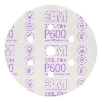 Giấy nhám 3M P600 260L đĩa tròn 6 in 00971