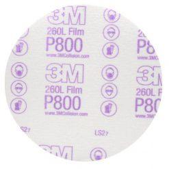 Giấy nhám 3M P800 260L đĩa tròn 6 in 00970