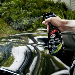Dung dịch làm bóng xe ô tô màu đen Turtle Wax Jet Black Spray Detailer 680ml