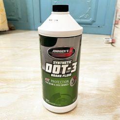 Dầu phanh DOT3 Johnsen's Dot 3 Brake Fluid 946ml
